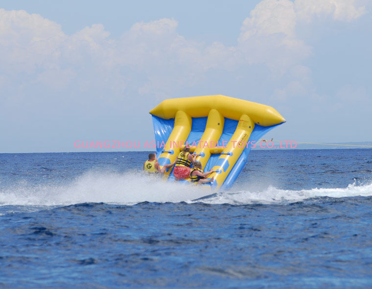 Funny Air Sealed Inflatable Flying Fish Tube with CE / UL Certificate pemasok