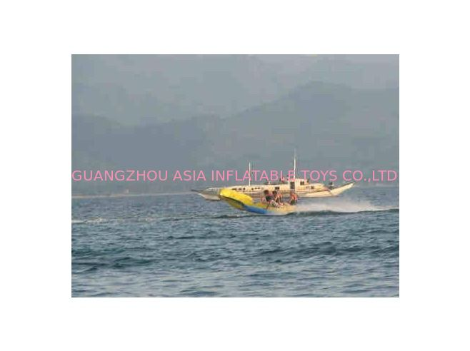 Commercial Flying Fish Towable Inflatables With Airtight Structure pemasok