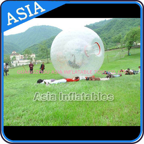 CE UL 3m PVC / TPU Zorb Ball Grass Zorbing Ball For Adults pemasok