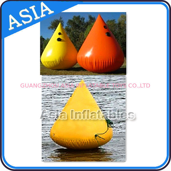 Inflatable Paintball Bunker Inflatable Buoys 0.90mm PVC Tarpaulin pemasok
