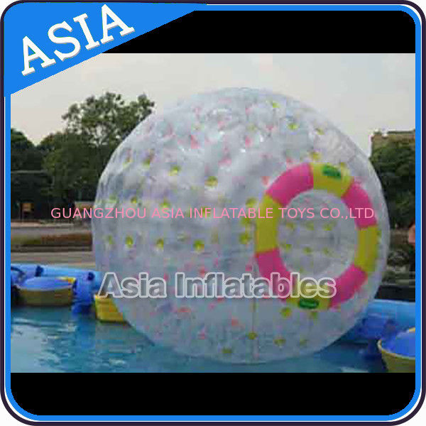 Clear PVC / TPU Inflatable Zorb Ball with 3m Outer Diameter For Adults pemasok