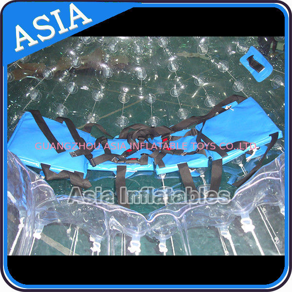 TPU Transparent Inflatable Grass Zorbing Ball with Safety Harnesses pemasok