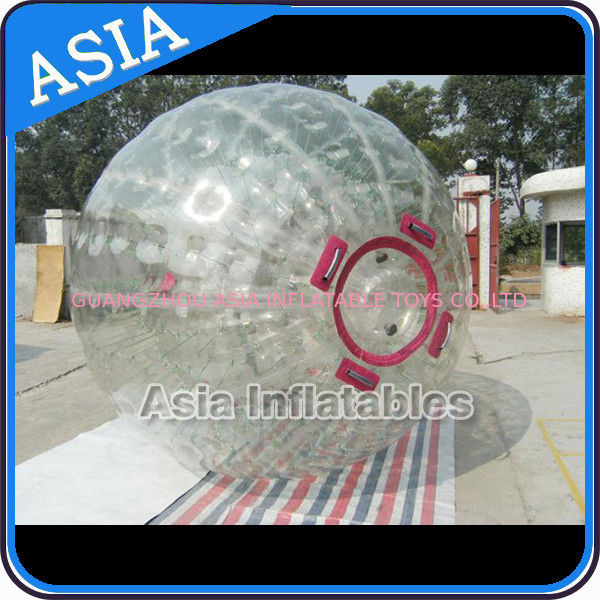 1.0mm PVC Inflatable Zorb Ball With One Entrance and Plug pemasok