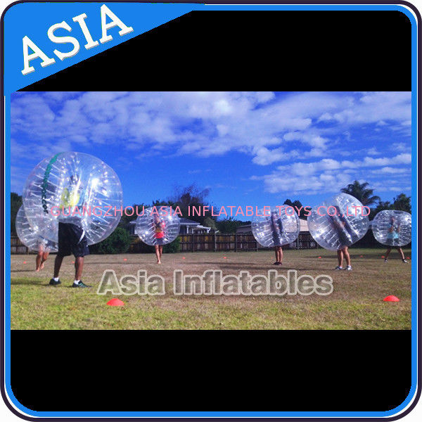 1.0mm Transparent Pvc Inflatable knocker ball Used For Football Game pemasok