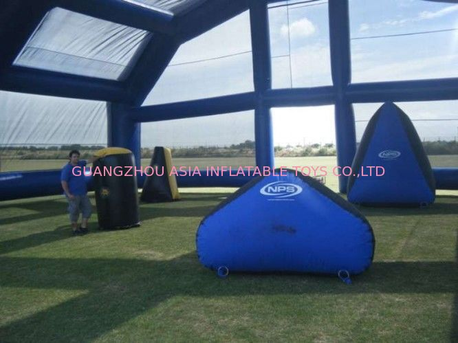 Water Proof Inflatable Paintball Arena ARENA07 with Durable Anchor Rings pemasok