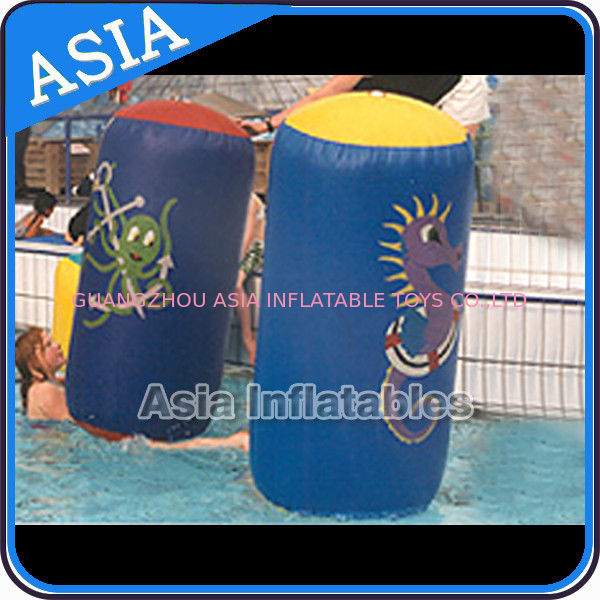 Inflatable Promote Buoy In Cylinder Shape For Ocean And Lake Advertising pemasok