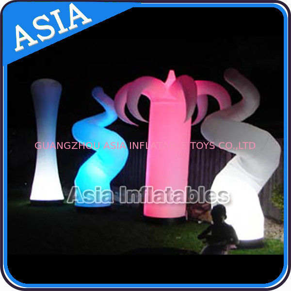 Oxford Fabric LED Light Inflatable Horn Decorations pemasok