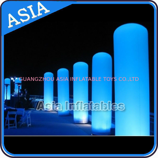 LED Inflatable Pillar Lighting Decoration, Inflatable Light Column pemasok